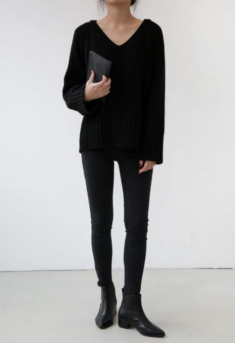 All black is perfect for university/college because it's easy and will always look good