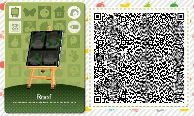 A Quick Mossy Slate Roof Design Enjoy Animal Crossing Qr Animal Crossing Qr Codes Animals