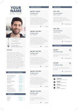 Clean Simple Resume Template Professional Resume Template Ms Word Simple Resume Simple Resume Template Resume Template