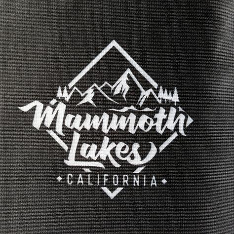 Mammoth Lakes Facemask