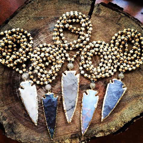 Arrowheads from Knot + Bow Designs
