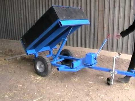 Beaconsfield 1 5 Ton Dropside Tipping Trailer Youtube Homemade Trailer Dump Trailers Utility Trailer