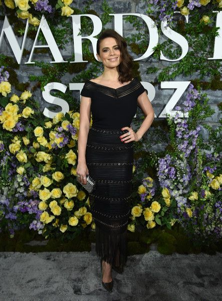 Actress Hayley Atwell attends the New York Red Carpet Premiere Screening Event of STARZ's 'Howards End.'