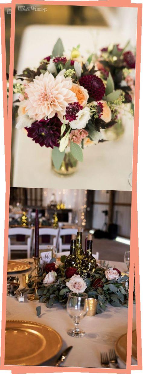 burgundy peach and blush wedding centerpieces #weddings #weddingideas #weddingcenterpieces #weddinginspiration #fallweddings  #Burgundy #Wedding #Centerpieces #blueberrysmoothie #blueberryyumyums #fashiondresses #designerdresses #rainbowdress #donutswedding #motorideen #blueberryideen #hochzeitideen #torteideen
