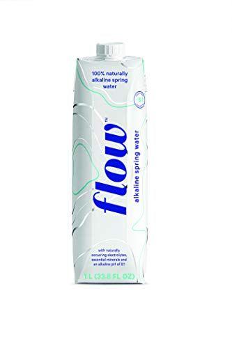 Flow Alkaline Spring Water Eco Friendly Packaging 6 X 1l Natural Alkaline Water Spring Water Natural Electrolytes