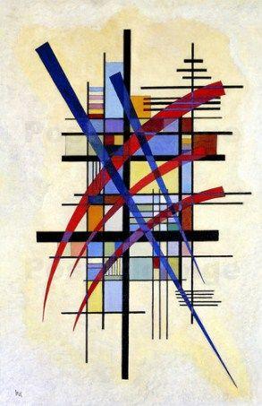 Wassily Kandinsky - Mark with Accompaniment, 1927 Kandinsky Art, Wassily Kandinsky Paintings, Montessori Art, Montessori Elementary, Inspiration Artistique, Sculpture Lessons, Elements Of Art, Art Sketchbook, Art Lessons