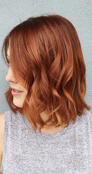38 Ginger Natural Red Hair Color Ideas That Are Trending For 2019 Ginger Natural Red Hair Color Ideas Girls Wit Hair Color Auburn Burgundy Hair Short Red Hair
