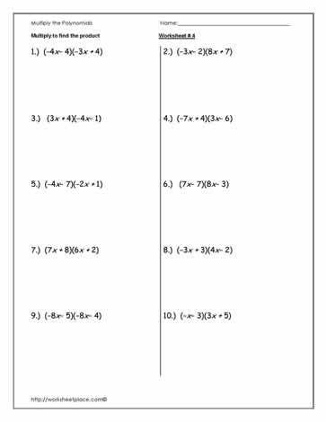 Dividing Polynomials Worksheet | Homeschooldressage.com