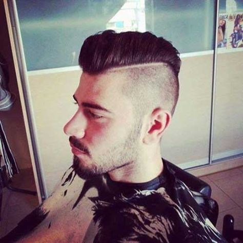Mens Undercut Mohawk Hairstyles