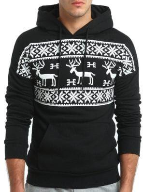 kerst trui 2020 Men's Elk Hood Kerst Trui Mannen Women Fashion Christmas