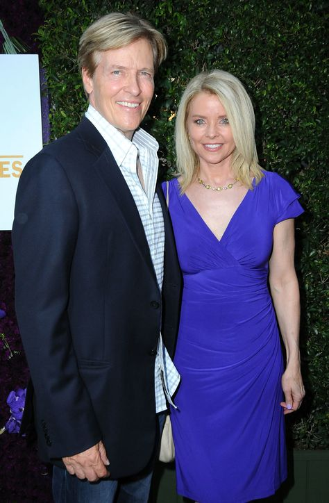 BEVERLY HILLS, CA - JULY 29:  (L-R) Actor Jack Wagner and wife Kristina Wagner attend the 2015 Summer TCA Tour - Hallmark Channel and Hallmark Movies And Mysteries on July 29, 2015 in Beverly Hills, California.  (Photo by Barry King/Getty Images) via @AOL_Lifestyle Read more: https://www.aol.com/article/entertainment/2017/05/04/general-hospital-kristina-wagner-bikini/22069486/?a_dgi=aolshare_pinterest#fullscreen