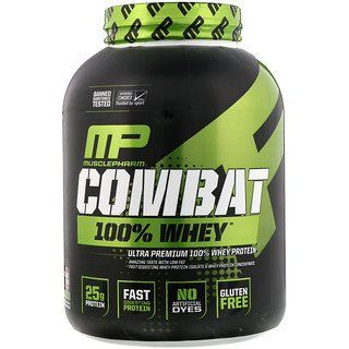 Musclepharm Combat 100 Whey Protein Chocolate Milk 5 Lbs 2269 G Muscle Pharm Mass Gainer Protein To Build Muscle