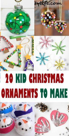 Christmas Ornament Kid Crafts Arts And Crafts Activities Amorecraftylife Com Preschool Christmas Crafts Kids Christmas Ornaments Childrens Christmas Crafts