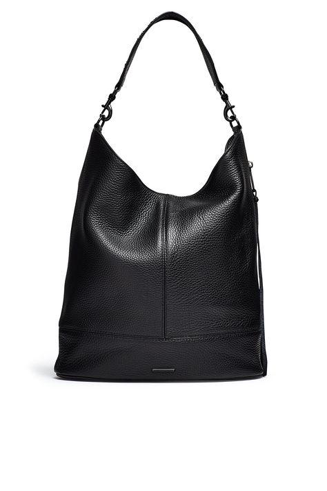 Rebecca Minkoff Vanity Saddle Bag 👜 - Almond | Rebecca