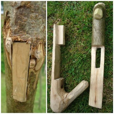 Bushcraft/Woodcraft pot hangers