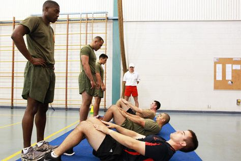 Marine Corps Physical Fitness Test (PFT)