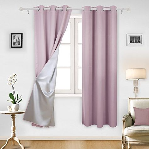 Deconovo Blackout Curtains Room Darkening