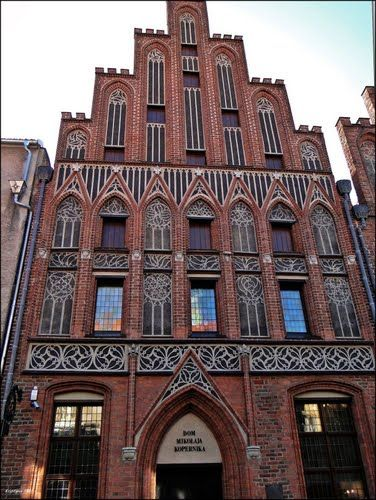 Toruń. Kamienica Kopernika