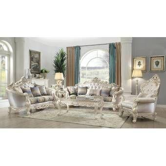 Amia 2 Piece Living Room Set Living Room Sets Traditional Living Room Furniture Beautiful Sofas