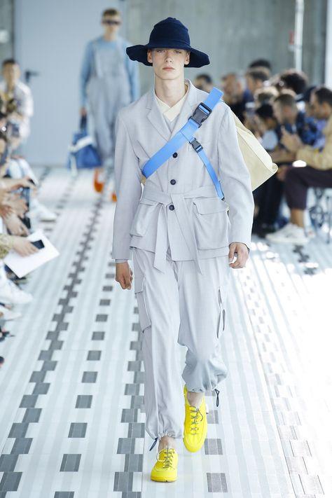 Sunnei Spring 2019 Menswear Milan Collection - Vogue