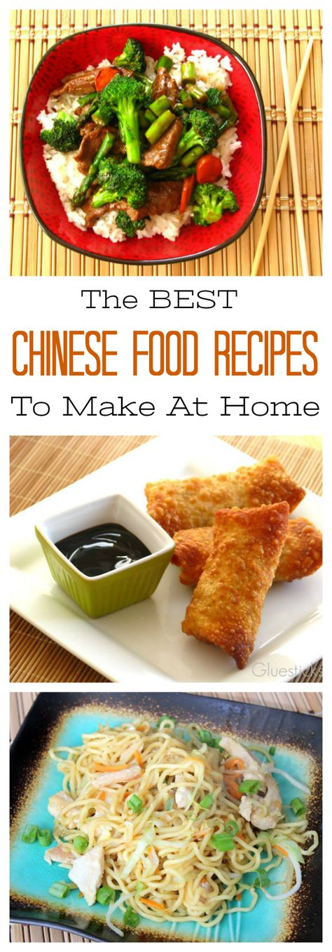 Enjoy Your Favorite Chinese Food Dishes At Home With A Collection Of Our Favorite Chinese Food Recipes Egg Rolls Chow Mein St Best Chinese Food Recipes Food