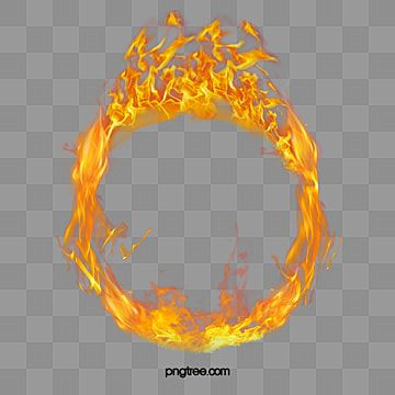 Circular Realistic Fire Ring With Fire Element Flash Of Light Flame Ring Of Fire Png Transparent Clipart Image And Psd File For Free Download Fire Icons Fire Ring Spring Flowers Background