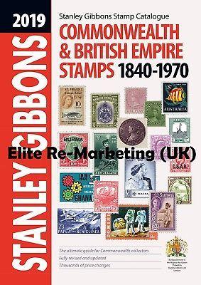 Gb 2020 Stanley Gibbons Commonwealth British Empire Stamps Catalogue Stamp Catalogue Book Stamp Stamp