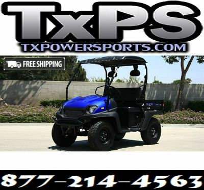 Fully Loaded Cazador OUTFITTER 200 Golf Cart 4 Seater Street