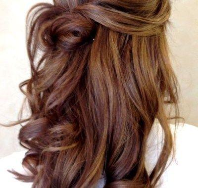 Curly Prom Hairstyles For Long Hair Tumblr Di 2019