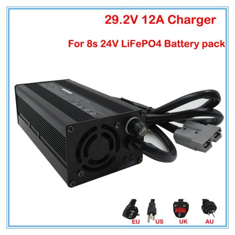 LiFe Po4 Battery 36 volt charger