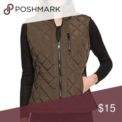 08014f816a0 Andrew Marc Ladies  Quilted Zipper Vest NEW NEW WITH TAGS Andrew Marc Ladies   Quilted
