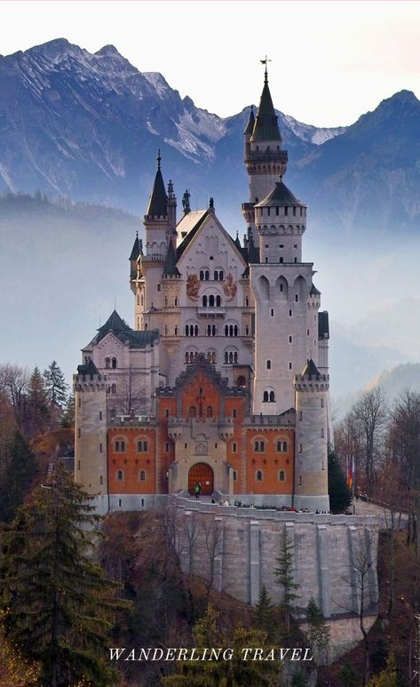 Discover Neuschwanstein Castle, Disney's Cinderella Castle, Fairytale Destinations, Click Through for details!