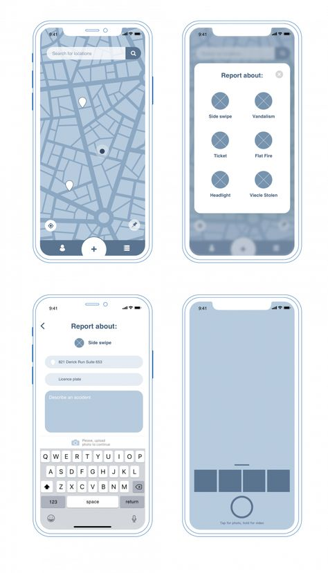 Case Study: Pazi. UX and UI Design for Vehicle Safety Mobile App