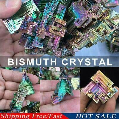 Natural Quartz Crystal Rainbow Titanium Cluster VUG Mineral Specimen Healing Top