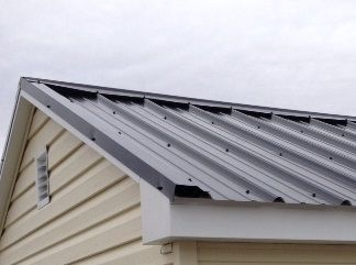 How To Put A Sheet Metal Roof On Shed In 2020 Metal Shed Roof Metal Roof Installation Metal Roofing Prices