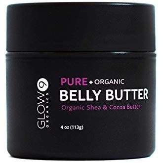 Belly Butter 100 Organic By Glow Organics Best Stretch Mark