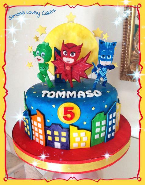 pj masks cake simona lovely cakes  cake pj masks cake