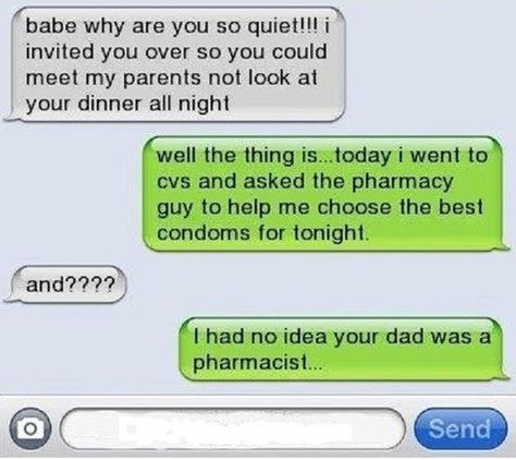 This guy who didn't know his girlfriend's dad's profession. | 26 Relationships That Were Obviously Doomed From The Start