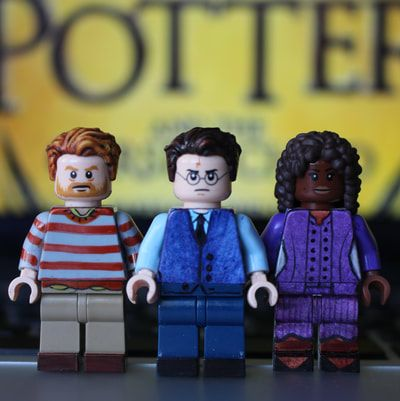 Harry Potter And The Cursed Child Lego Harry Potter Minifigures Lego Harry Potter Cursed Child