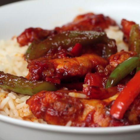 Simple Chilli Chicken