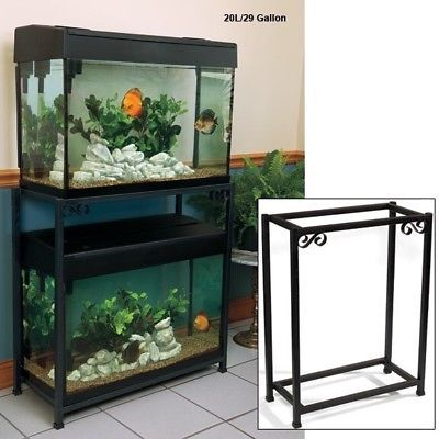Double Aquarium Stands 10 Gallon Free Shipping New Free Ship Fish Tank Stand Fish Tank Fish Aquarium Decorations