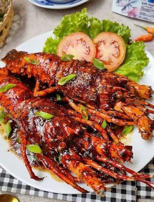 Lobster Lada Hitam Resep Lobster Resep Masakan Resep Udang