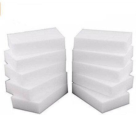 100 pcs//lot Melamine Sponge Magic Sponge Eraser Kitchen Cleaner Cleaning Sponge