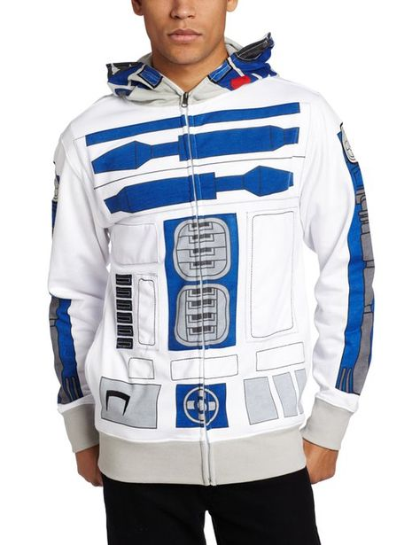 Star Wars Mens I Am R-2 Hoodie