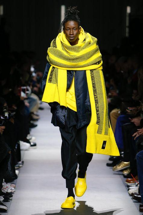 Y-3 | Menswear - Autumn 2018 | Look 1