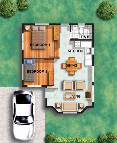 Tiny House Bathroom Floor Plans Lovely Home Design Minimalist Design House Floor Plan With Two Denah Rumah Denah Lantai Rumah Kehidupan Rumah Mungil