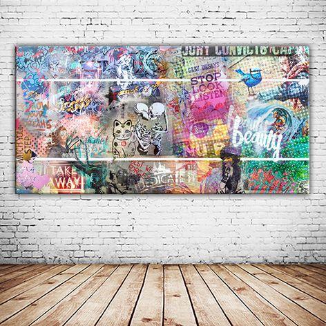 80788 munchen auf leinwand und oder als alu druck versandkostenfrei bestellen streetart graffiti leinwandbilder posterlounge bilder günstig kaufen