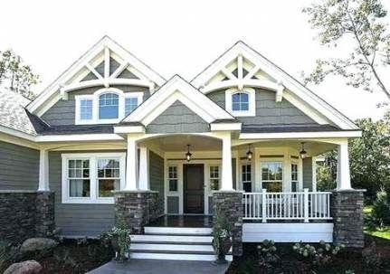 37 Ideas House Plans Craftsman Bungalow Exterior Colors For 2019 Craftsman Bungalow Exterior Craftsman Home Exterior Bungalow Exterior