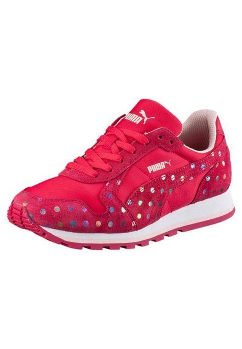 #Puma #ST #RUNNER #KONFETTI #Sneaker #low #rose #red/rose #red für #Kinder -