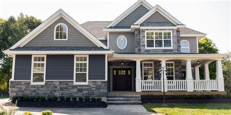 Image Result For Two Story Homes With Two Types Of Siding House